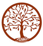 wandpaneel tree of life