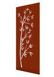 Cortenstaal tuinscherm bamboe
