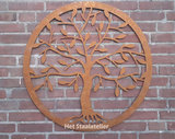 wanddecoratie tree of life
