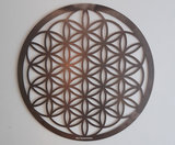 wandpaneel flower of life