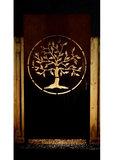 Cortenstaal Schutting Tree of Life_