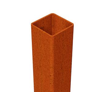 cortenstaal koker 10x10x300cm